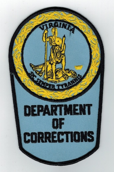 DEPARTMENT OF CORRECTIONS VIRGINIA ERROR (J)